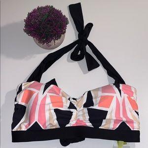 Gianni Bini Swim Suit Bikini Top Size 32DD New